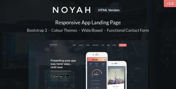 Noyah – App Landing Page