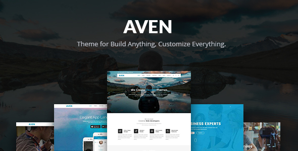 Aven - Feature Packed Multi Use Theme