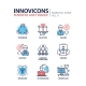 Business And Finance Line Design Icons Set - GraphicRiver Item for Sale