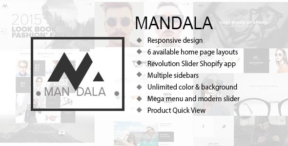 Mandala - Responsive Ecommerce Shopify Theme - Fashion Shopify