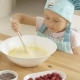 Adorable Toddler At Mixing Bowl - VideoHive Item for Sale