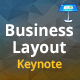 Business Layout Keynote Presentation Template - GraphicRiver Item for Sale