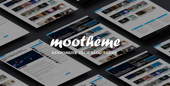 Mootheme – Tech Blog WordPress Theme