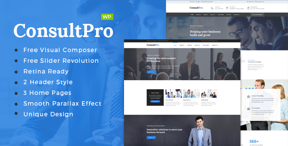 ConsultPro : Consultancy WordPress Theme