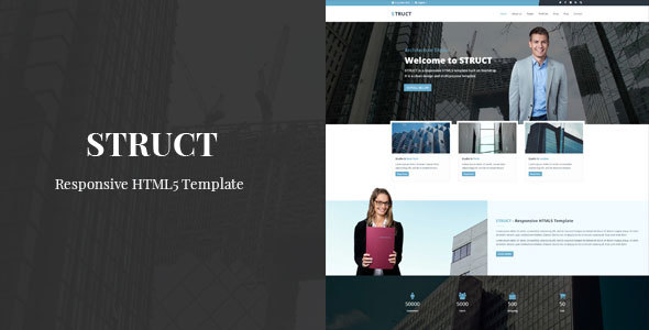 Struct – Responsive HTML5 Template