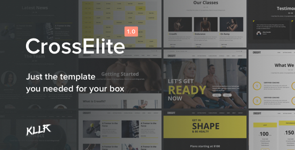 CrossElite – The 100% Tailored Fitness Template for your Box