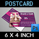 Nail Salon Postcard Template - GraphicRiver Item for Sale