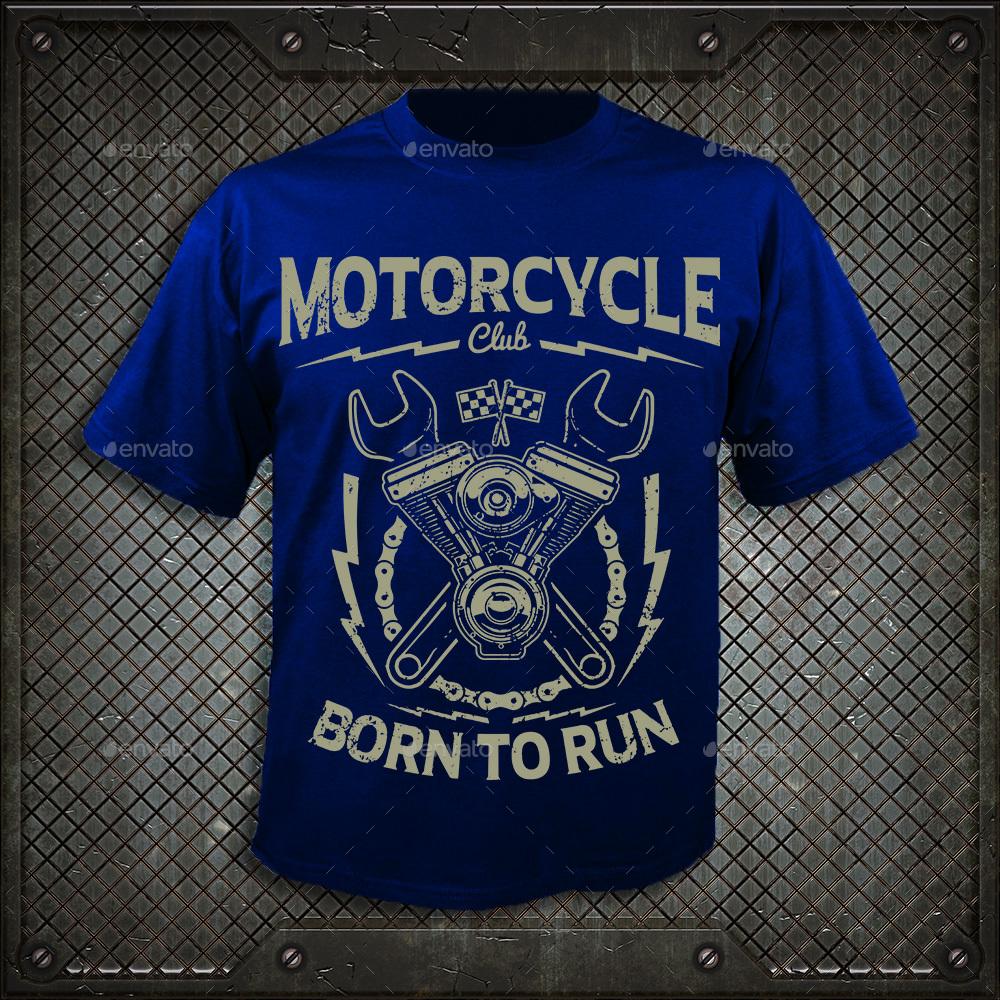 motorcycle club t
