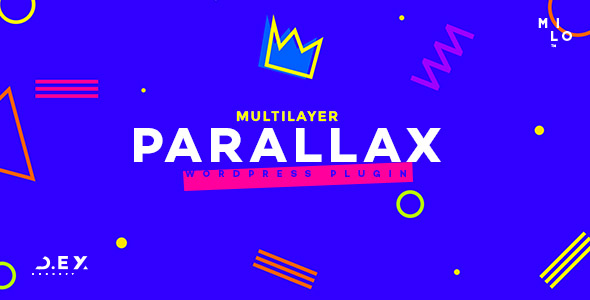 Multilayer Parallax Wordpress Plugin By Milothemes CodeCanyon