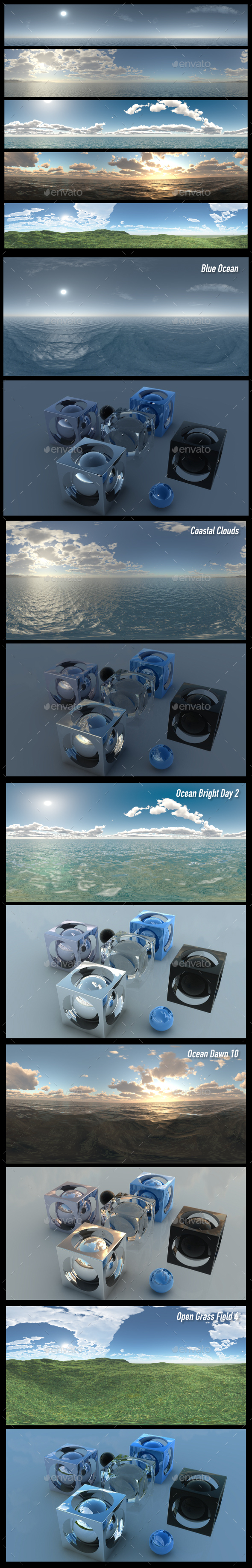 HDRI Pack 11 - 3DOcean Item for Sale