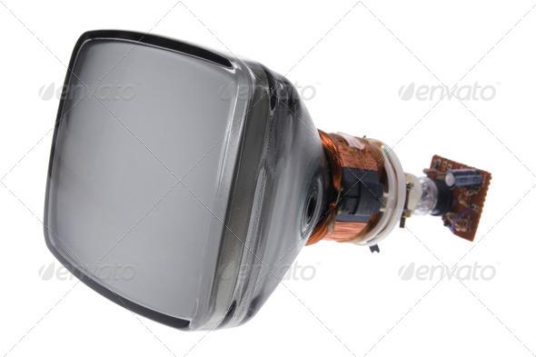 Cathode Ray Tube - Stock Photo - Images