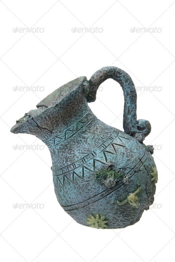 Broken Old Pitcher - Stock Photo - Images