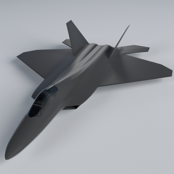 F-22 Raptor - 3DOcean Item for Sale