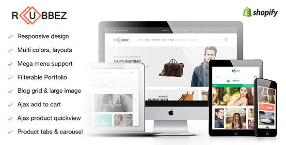 Rubbez - Responsive Shopify Theme - Shopify eCommerce