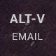 ALT-V Travel Agency PSD Email Template - GraphicRiver Item for Sale