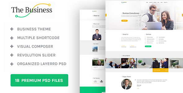 The Business - WP Business & Corporate Theme