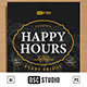 Happy Hours Flyer - GraphicRiver Item for Sale