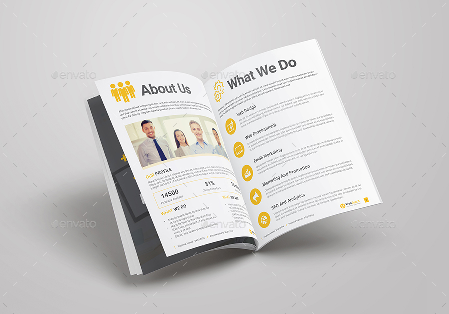 Web Design Project Proposal By Kitcreative Graphicriver