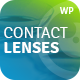 Contact Lenses Store & Vision Therapy Clinic WP Theme