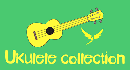 Ukulele collection