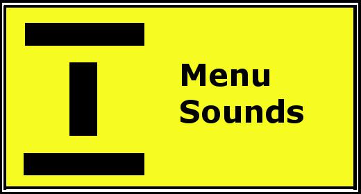 Menu Sounds