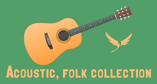 Acoustic, folk collection