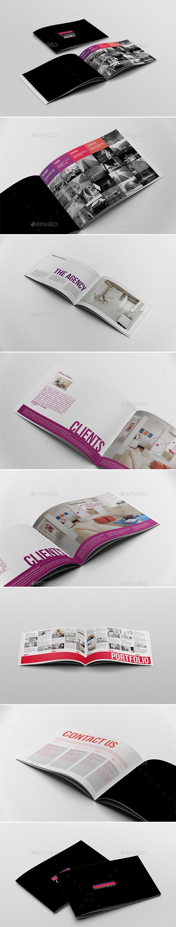 A5 Portfolio Brochure - Portfolio Brochures