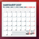 Monthly Planner 2017 - GraphicRiver Item for Sale
