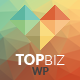 TopBiz - Responsive Corporate WordPress Theme - ThemeForest Item for Sale