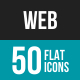 Web Flat Multicolor Icons