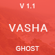 Vasha - Minimal Masonry Ghost Theme - ThemeForest Item for Sale