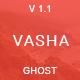 Vasha - Minimal Masonry Ghost Theme - ThemeForest Item for Sale