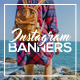 Modern Instagram Banners 2  - GraphicRiver Item for Sale