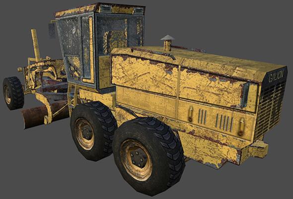 Grader  - 3DOcean Item for Sale