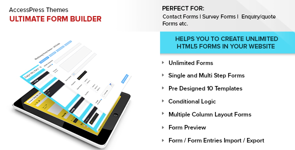 Ultimate Form Builder - CodeCanyon Item for Sale