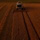 Aerial View Of Harvester Working - VideoHive Item for Sale