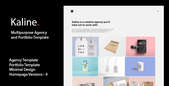 Kaline Multipurpose Agency Portfolio Template