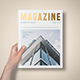 US Letter Foil Stamping Magazine Mock-Up - GraphicRiver Item for Sale
