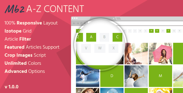 Mb2 A-Z Content - Joomla Content Module - CodeCanyon Item for Sale
