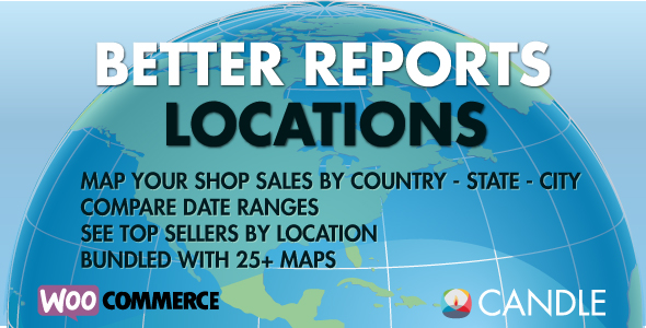 Woocommerce Better Reports Locations - CodeCanyon Item for Sale