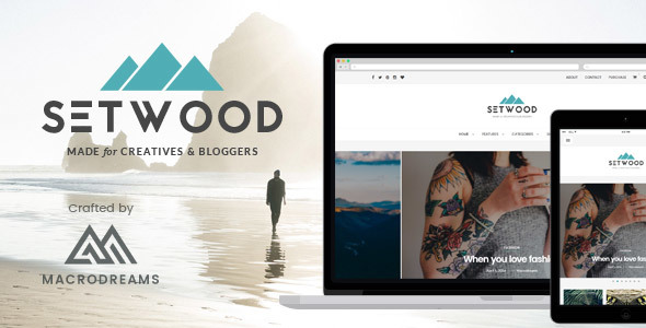 Setwood – Responsive WordPress Blog & Shop Theme