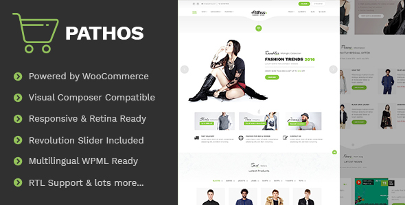 Pathos - Fashion Clothing Apparel WooCommerce Store
