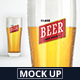 Beer Glass Logo Mock-Up - GraphicRiver Item for Sale