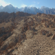 Sideways Desert Rock Snow Mountains - VideoHive Item for Sale