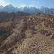 Sideways Desert Rock Snow Mountains - VideoHive Item for Sale