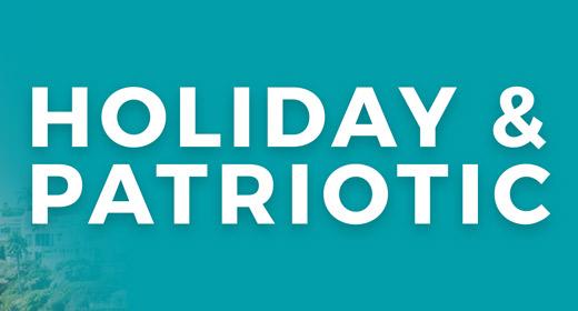 Patriotic & Holiday