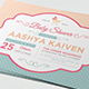 Baby Shower Invitation-Graphicriver中文最全的素材分享平台