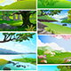 Forest Landscape Collection - GraphicRiver Item for Sale
