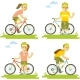 Bike and People Set - GraphicRiver Item for Sale