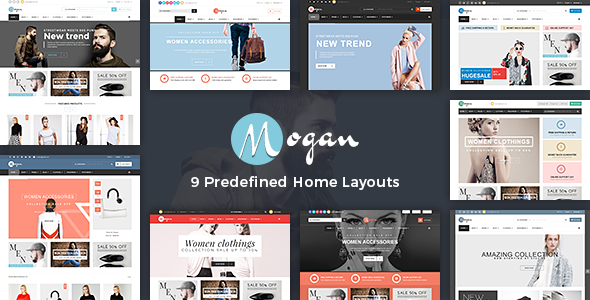 Vina Mogan – Responsive VirtueMart Fashion Template